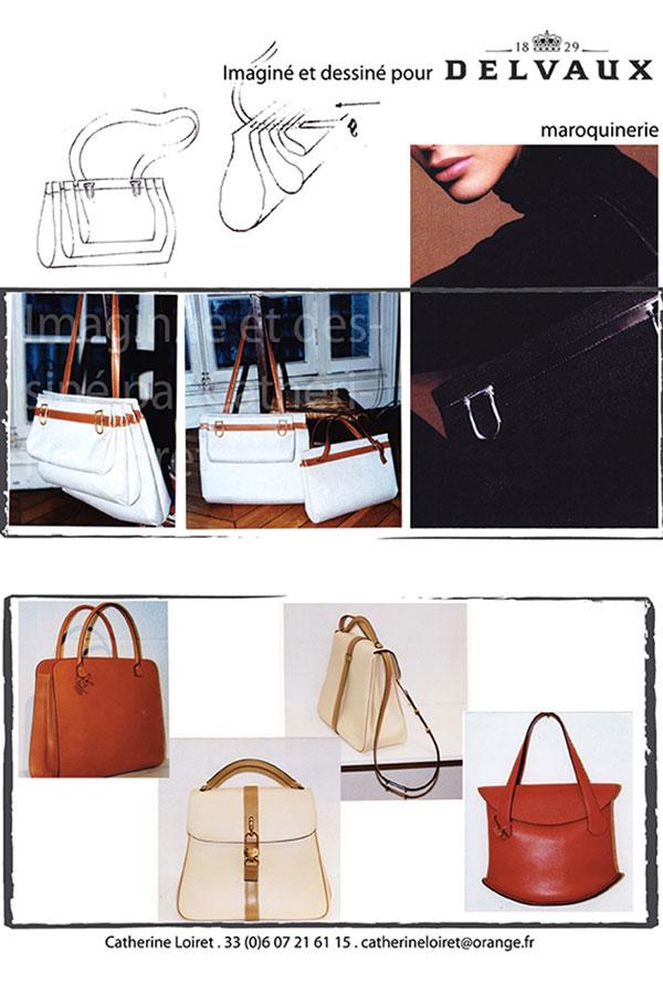 DELVAUX maroquinerie designer Catherine Loiret