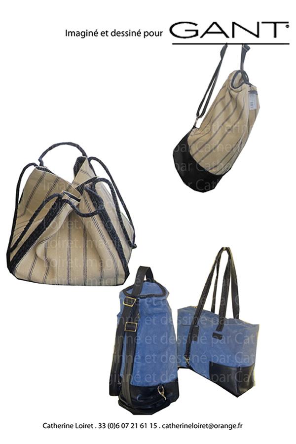 GANT maroquinerie design Catherine Loiret