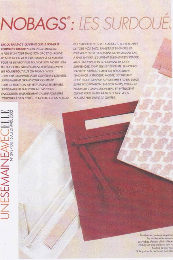 LANCELsac Catherine Loiret Design