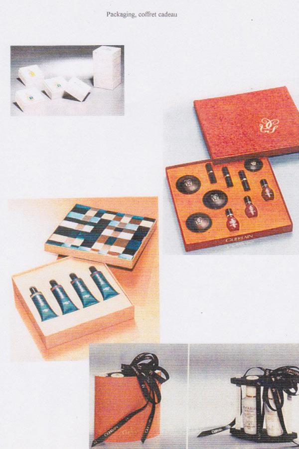 GUERLAIN packaging Catherine Loiret Design